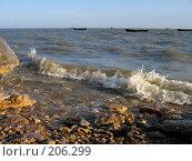 Купить «Прибой Азовском море», фото № 206299, снято 16 апреля 2005 г. (c) Игорь Струков / Фотобанк Лори