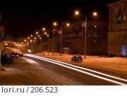 Купить «Ночной проспект», фото № 206523, снято 10 февраля 2008 г. (c) Лукьянов Иван / Фотобанк Лори