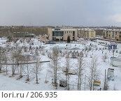 Купить «Ледовый городок г. Краснокаменск 2008 г.», фото № 206935, снято 21 февраля 2008 г. (c) Геннадий Соловьев / Фотобанк Лори