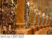 Санкт-Петербург. Ограда Михайловского сада (2005 год). Редакционное фото, фотограф Александр Секретарев / Фотобанк Лори