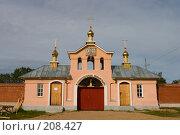 Купить «Важеозерский Спасо-Преображенский мужской монастырь, надвратная церковь преп. Иоанна Рыльского.», фото № 208427, снято 10 июня 2007 г. (c) Инга Лексина / Фотобанк Лори
