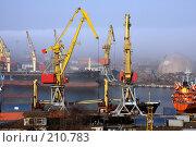 Купить «Одесский порт. Туман», фото № 210783, снято 22 февраля 2008 г. (c) Pshenichka / Фотобанк Лори