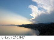 Купить «Вид на море с крепости Чабан Кале, Крым», фото № 210847, снято 31 августа 2007 г. (c) Pshenichka / Фотобанк Лори