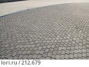Купить «Тротуарная плитка», фото № 212679, снято 28 февраля 2008 г. (c) Федор Королевский / Фотобанк Лори