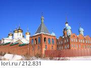Купить «Церковь Благовещения Богородицы в п. Федоровка», фото № 212831, снято 7 января 2008 г. (c) Алексей Баринов / Фотобанк Лори