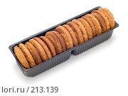 Купить «Овсяное печенье в упаковке», фото № 213139, снято 2 марта 2008 г. (c) Угоренков Александр / Фотобанк Лори