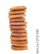 Купить «Башня из овсяного печенья», фото № 213143, снято 2 марта 2008 г. (c) Угоренков Александр / Фотобанк Лори