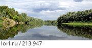 Купить «Панорама реки. Река Десна», фото № 213947, снято 3 сентября 2007 г. (c) Dmitriy Andrushchenko / Фотобанк Лори