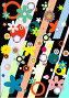 Разноцветный цветочный фон. Растровая версия, иллюстрация № 214095 (c) Ольга С. / Фотобанк Лори