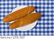 Купить «Французская булка», фото № 215107, снято 10 ноября 2004 г. (c) Кравецкий Геннадий / Фотобанк Лори