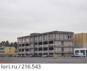 Купить «Промышленное здание перед реконструкцией», фото № 216543, снято 6 марта 2008 г. (c) Алёна Фомина / Фотобанк Лори