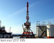 Купить «База снабжения нефтяных проектов «Сахалин»», фото № 217195, снято 6 марта 2008 г. (c) RedTC / Фотобанк Лори