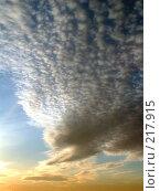Купить «Закат», фото № 217915, снято 16 сентября 2019 г. (c) ElenArt / Фотобанк Лори