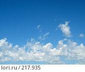 Купить «Голубое небо», фото № 217935, снято 27 февраля 2020 г. (c) ElenArt / Фотобанк Лори
