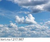 Купить «Небо. Облака», фото № 217987, снято 24 августа 2019 г. (c) ElenArt / Фотобанк Лори