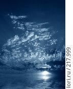 Купить «Ночное небо», фото № 217999, снято 16 сентября 2019 г. (c) ElenArt / Фотобанк Лори