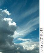 Купить «Небо», фото № 218019, снято 27 февраля 2020 г. (c) ElenArt / Фотобанк Лори