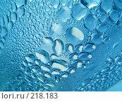 Купить «Капли воды», фото № 218183, снято 12 ноября 2019 г. (c) ElenArt / Фотобанк Лори