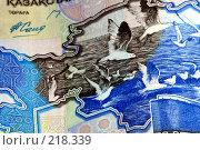 Купить «Деньги. Казахстан», фото № 218339, снято 21 сентября 2018 г. (c) ElenArt / Фотобанк Лори