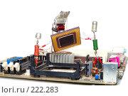 Купить «Ремонт или обновление компьютера», фото № 222283, снято 29 февраля 2008 г. (c) Павел Савин / Фотобанк Лори