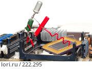 Купить «Ремонт или обновление компьютера», фото № 222295, снято 29 февраля 2008 г. (c) Павел Савин / Фотобанк Лори