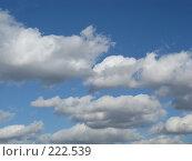 Купить «Воздушные облака», фото № 222539, снято 6 марта 2008 г. (c) Мария Коробкина / Фотобанк Лори