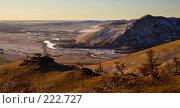 Купить «Поздняя осень на Южно-Уральских холмах», фото № 222727, снято 25 ноября 2007 г. (c) Евгений Прокофьев / Фотобанк Лори