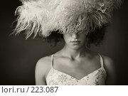 Купить «Портрет девушки в меховой шапке», фото № 223087, снято 14 июля 2007 г. (c) Кирилл Николаев / Фотобанк Лори