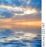 Купить «Закат», фото № 223167, снято 20 сентября 2006 г. (c) Liseykina / Фотобанк Лори