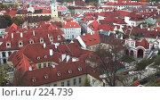 Купить «Крыши Праги», фото № 224739, снято 24 октября 2006 г. (c) Владимир Воякин / Фотобанк Лори