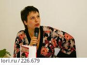 Купить «Писательница Татьяна Веденская», фото № 226679, снято 16 марта 2008 г. (c) Николай Коржов / Фотобанк Лори