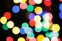 Рождественские огни. Фон, фото № 227607, снято 24 марта 2017 г. (c) Роман Сигаев / Фотобанк Лори