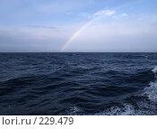 Купить «Радуга над Охотским морем», фото № 229479, снято 20 сентября 2019 г. (c) Сергей Рогальский / Фотобанк Лори