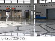 Купить «Зал железнодорожного вокзала», фото № 229695, снято 3 апреля 2005 г. (c) Кравецкий Геннадий / Фотобанк Лори
