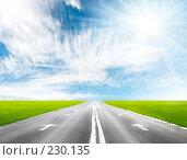 Купить «Дорожная перспектива», фото № 230135, снято 22 ноября 2007 г. (c) chaoss / Фотобанк Лори