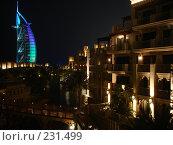 Купить «Ночной Дубай», фото № 231499, снято 4 сентября 2007 г. (c) Андрей Ильинский / Фотобанк Лори