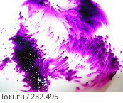 Купить «Растворяющийся в воде перманганат калия», фото № 232495, снято 25 марта 2008 г. (c) Заноза-Ру / Фотобанк Лори