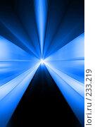 Купить «Абстрактый коридор будущего», фото № 233219, снято 15 сентября 2007 г. (c) Александр Телеснюк / Фотобанк Лори