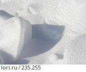 Купить «Снег», фото № 235255, снято 16 августа 2018 г. (c) griFFon / Фотобанк Лори
