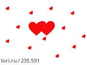 Сердечки. Стоковое фото, фотограф Олег Чумак / Фотобанк Лори