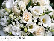 Купить «Букет невесты», фото № 235879, снято 1 марта 2008 г. (c) Григорий Сухарев / Фотобанк Лори
