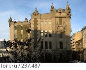 Купить «Дом с химерами», фото № 237487, снято 21 апреля 2019 г. (c) Завриева Елена / Фотобанк Лори