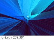 Купить «Синий абстрактный фон», иллюстрация № 239391 (c) ElenArt / Фотобанк Лори
