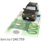 Купить «Деньги и автомобиль», фото № 240759, снято 21 июля 2019 г. (c) паша семенов / Фотобанк Лори