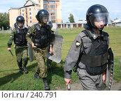 Купить «Солдаты внутренних войск», эксклюзивное фото № 240791, снято 19 ноября 2006 г. (c) Free Wind / Фотобанк Лори