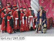 Купить «Выездной спектакль «Царская невеста» (опера) Мариинского театра в Ивангороде на территории крепости», фото № 241035, снято 17 августа 2018 г. (c) Александр Секретарев / Фотобанк Лори