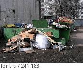 Купить «Москва. Районная помойка», эксклюзивное фото № 241183, снято 31 марта 2008 г. (c) lana1501 / Фотобанк Лори