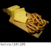 Сыр с баранками. Стоковое фото, фотограф lana1501 / Фотобанк Лори