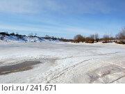 Тающий лед на реке. Стоковое фото, фотограф Шемякин Евгений / Фотобанк Лори