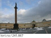 Купить «Санкт-Петербург. Александрийский столп», фото № 241867, снято 25 сентября 2018 г. (c) Александр Секретарев / Фотобанк Лори
